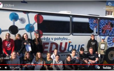 Den EDUbusu na škole v Čáslavi